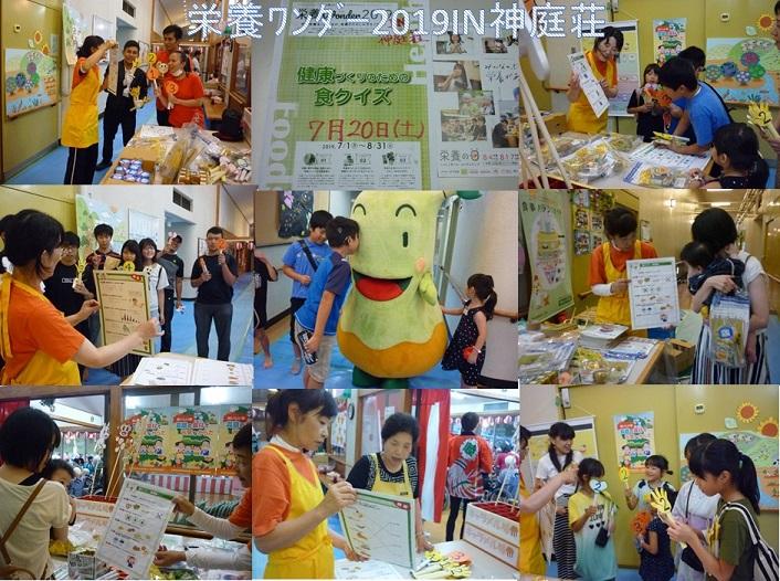 栄養ワンダー2019 IN神庭荘
